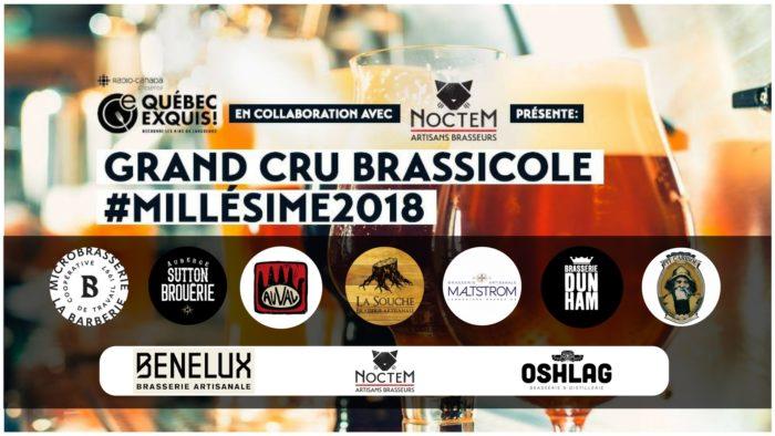 Grand Cru Brassicole #Millésime2018 10 micros