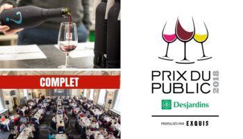 Québec Exquis Activité Prix du Public COMPLET