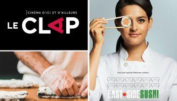 Québec Exquis Activité officielle Cinéma Le Clap East Side Sushi