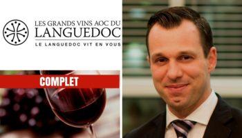 Québec Exquis Activité officielle Dégustation signature Vins Languedoc COMPLET