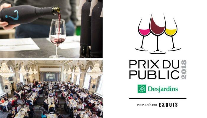 Québec Exquis Activité officielle Prix du Public Desjardins 2018