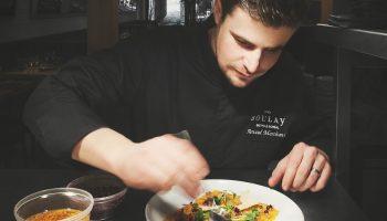 Québec Exquis Chef Chez Boulay Bistro Boréal Arnaud Marchand par Krystel V Morin photographe tuile