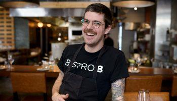 Québec Exquis Chef Francois Blais Bistro B par Eric Massicotte photographe tuile
