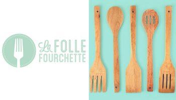 Québec Exquis Découvrir La Folle Fourchette avec logo