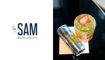 Québec Exquis Découvrir Le Sam bistro évolutif cocktail Eska