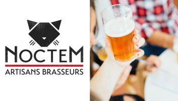 Québec Exquis Découvrir Noctem Artisans Brasseurs avec logo