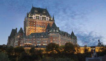 Québec Exquis Dormir Fairmont Le Chateau Frontenac