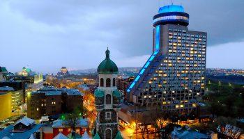 Québec Exquis Dormir Le Concorde Hotel