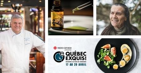 Québec Exquis Jumelage Restaurant Saint-Amour Aliksir