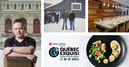 Québec Exquis Jumelage Table
