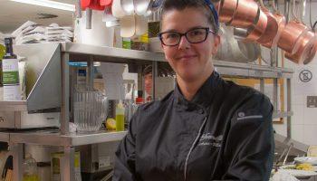Québec Exquis chef Anne-Marie Boissonnault La Fenouillière par Geneviève Lagacé photographe tuile