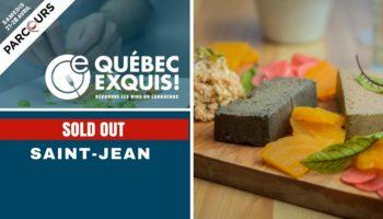 Québec Exquis Activité officielle Parcours Saint-Jean SOLD OUT