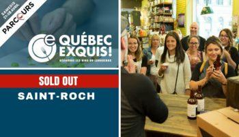 Québec Exquis Activité officielle Parcours Saint-ROCH SOLD OUT